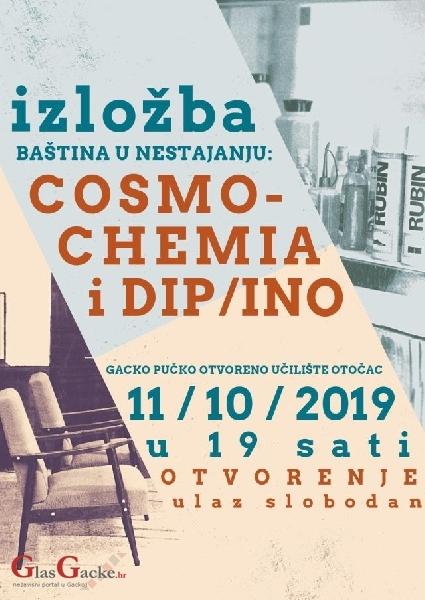 Večeras otvorenje izložbe baština u nestajanju: Cosmochemija i DIP / INO