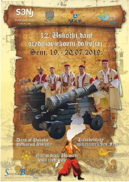 12. USKOČKI DANI – 19. i 20. srpnja 2019. godine
