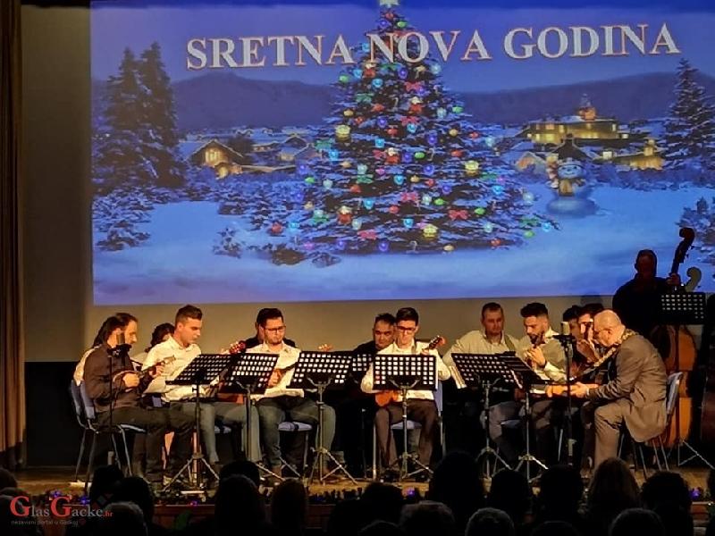 Održan 16.tradicionalni novogodišnji koncert Tamburaškog orkestra GPOU-a Otočac