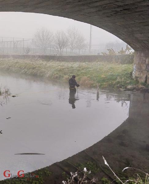 Vrše se vodomjerenja protoke rijeke Gacke
