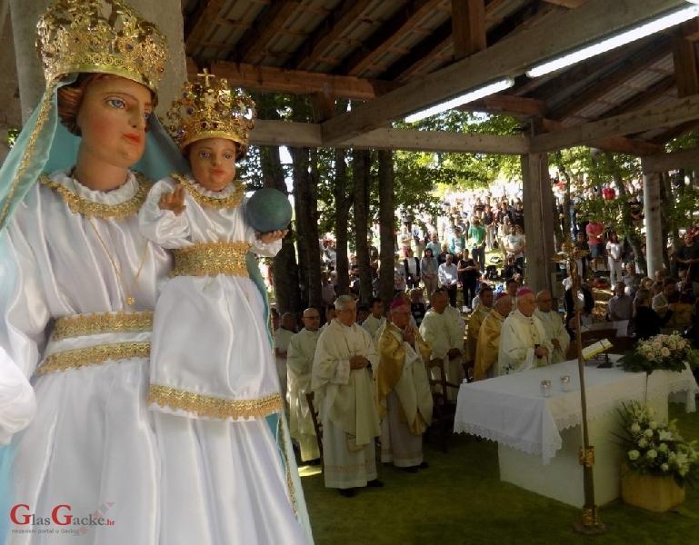 Svetkovina Velike Gospe proslavljena u svetištu na Krasnu