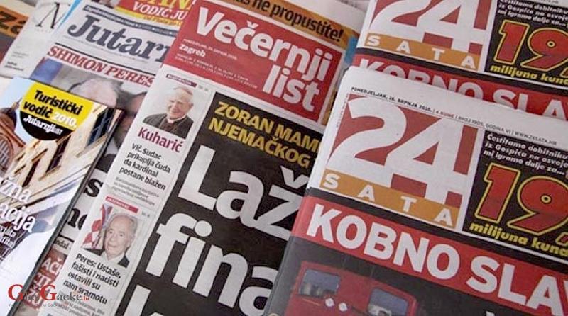 I to je Hrvatska: Srbijanci kontroliraju tiskane medije u Hrvatskoj