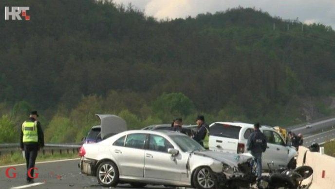 Dvije prometne nesreće na A-1, vozač motocikla preminuo