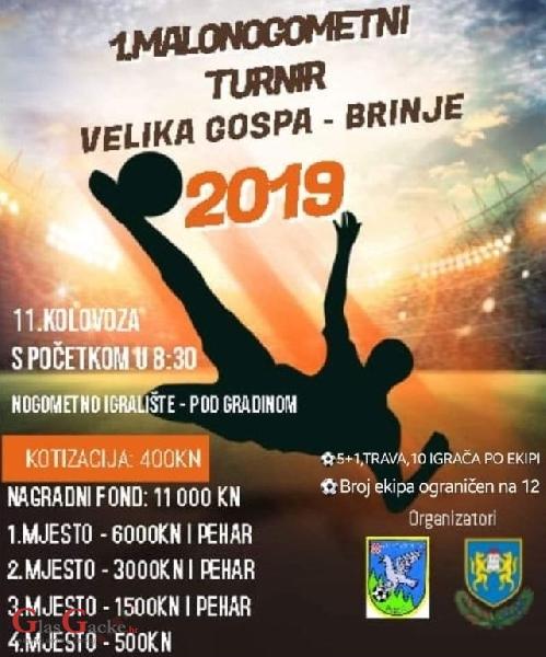 "Malonogometni turnir ""Velika Gospa - Brinje """