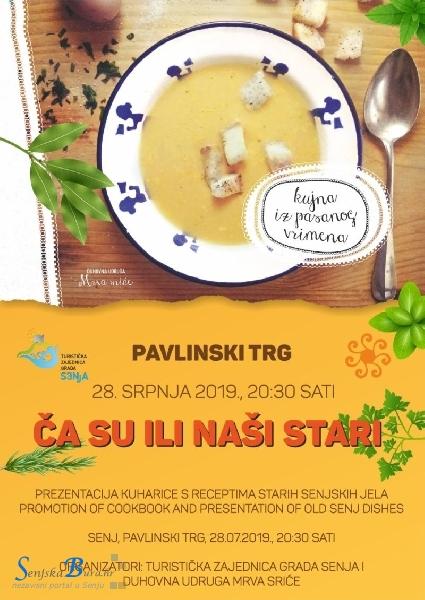 """Turističko gastronomska manifestacija """"Ča su ili naši stari"""""""