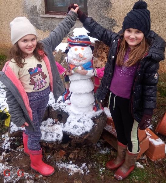 Šareni, ovaj, bijeli snjegović!