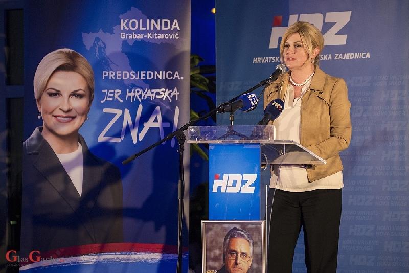 Sutra u Otočcu predsjednica Kolinda Grabar-Kitarović i predsjednička kandidatkinja HDZ-a