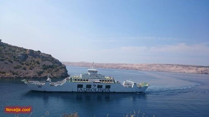 Novi plovidbeni red trajekta na liniji Prizna - Žigljen