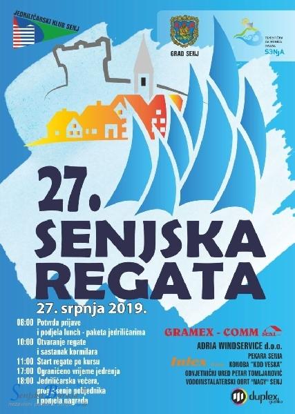 27. Jedriličarska regata u Senju