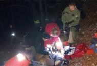 Policija i antiteroristička jedinica spašavali migranta koji je pao sa stijene