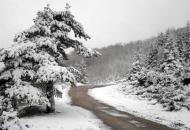 Na Velebitu snijeg