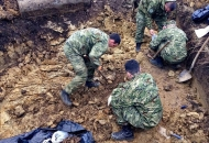 Pokop posmrtnih ostataka 294 žrtve Drugog svjetskog rata i poraća ekshumirane na području Gračana