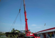 Srbijanci provociraju: Usred Beograda postavljen tenk iz Vukovara