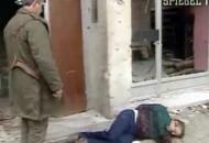 Njemačka tv u Vukovaru nakon pada snimila zločinca na djelu