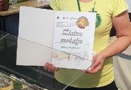 Zlatna medalja za sir Runolist, također i za Škripavac