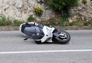 Vozač motocikla zadobio teške tjelesne ozljede