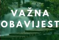 Koronske promjene na Plitvičkim jezerima