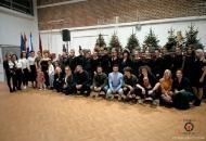 Show gačanskih frizera na Božićnom sajmu