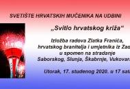 Svitlo hrvatskoga križa - izložba Zlatka Franića
