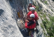 Gorski spašavatelji odradili stjensku vježbu spašavanja