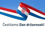 Čestitamo vam Dan državnosti Republike Hrvatske