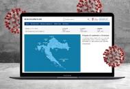 Internetska stranica o koronavirusu u Hrvatskoj