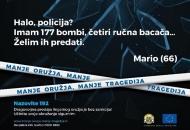 Građanin u Gospiću predao streljivo i učinio svoj dom sigurnijim