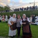 Otočki tamburaši na Škorinom koncertu sinoć u Zagrebu