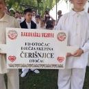 Čerišnjice nastupile na Malim vezovima u Đakovu