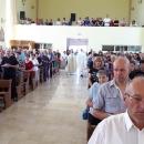 Križić posvetio oltar u samostanskoj crkvi sv. Ivana Krstitelja u Gračacu