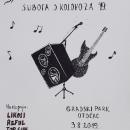 Večeras rock koncert u gradskomu parku u Otočcu