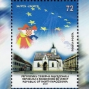 Makedonci iskazali zahvalu Hrvatskoj poštanskom markicom