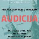 Audicija za Plitvice Teen Fest