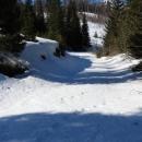 U NP Sjeverni Velebit putovi su zbog snijega teško prohodni
