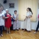 """Izložba """"Boje duše"""" umjetnice Vukelić otvorena u sklopu Dana maturanata senjske gimnazije"""