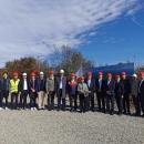 Visoka kineska delegacija i predstavnici Grada Senja obišli gradilište novog vjetroparka