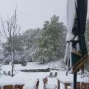 Na Plitvicama pao snijeg
