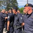 Ministar Božinović obišao operativno mjesto za koordinaciju rada policijskih snaga u Grabovcu