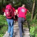 Spašen mladić u NP Plitvička jezera, poskliznuo se i pao u jezero