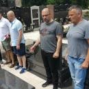 Milijan Brkić položio cvijeće na grob suborca Roberta Barbića