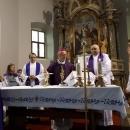 Biskup Križić u kanonskoj vizitaciji u Lešću i Prozoru