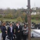 Polaganje vijenaca u prigodi blagdana Svih svetih u Brinju