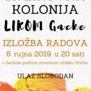 """13.Likovna kolonija """"Likom Gacke """""""