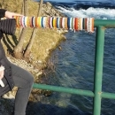 Atrakcija - šareni rukohvati mostova