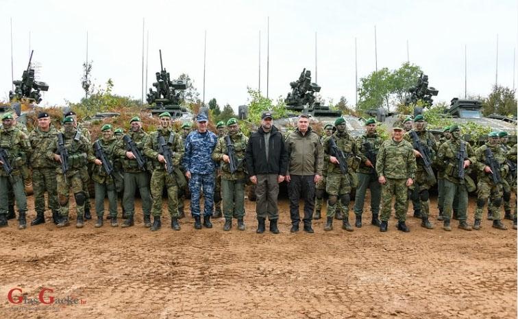 """Završni prikaz vojne vježbe """"UDAR 21"""""""