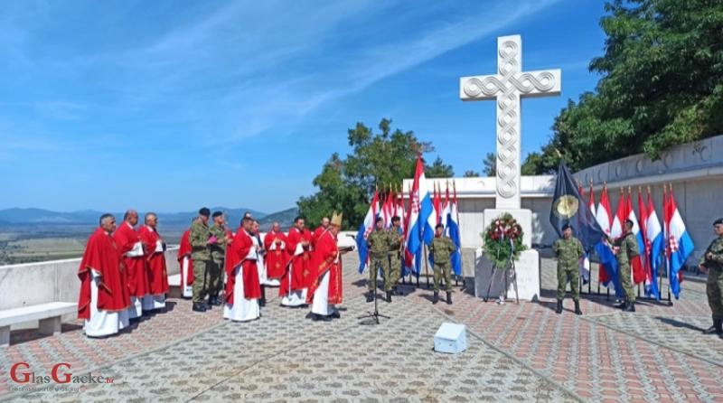 Održano 6. vojno hodočašće pripadnika Hrvatske kopnene vojske na Udbinu