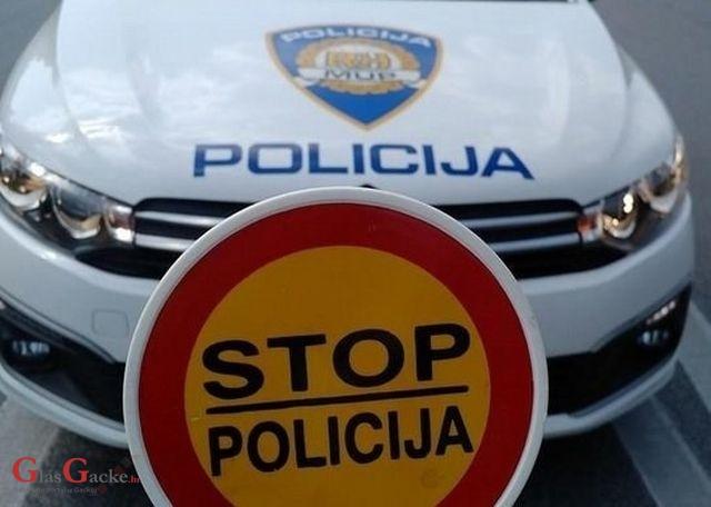 U Gospiću uhićen počinitelj teških prekršaja u cestovnom prometu