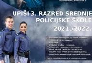"""Natječaj za upis učenika u III. razred Policijske škole """"Josip Jović"""""""