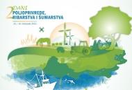 2. Dani poljoprivrede, ribarstva i šumarstva 15. i 16. listopada u Zagrebu