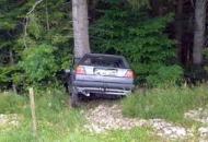 Autom u stablo i poginuo